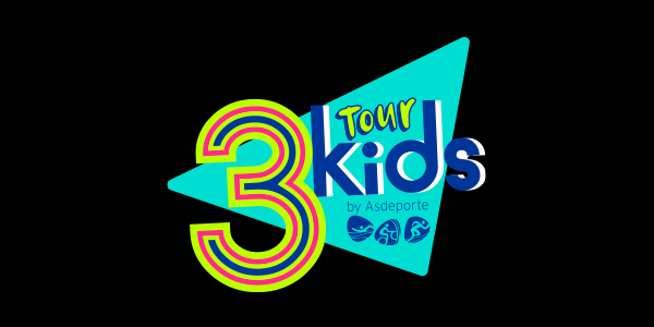 Circuito de triatlones creados especialmente para niñas y niños, donde los más pequeños aprenderán jugando lo que es el triatlón y a disfrutar de el. Triatlón Bike & Run  Splash & Run  ¡Te esperamos en #3kids!  ¡Qué nada te detenga!