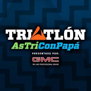 Triatlón Astri con Papá 2020, presentado por GMC