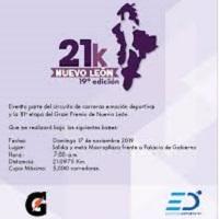 19a Edición 21k Nuevo León 2019