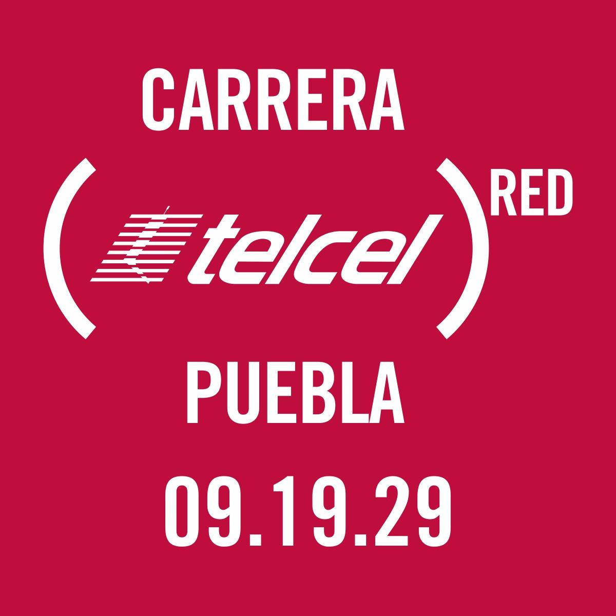 11a Carrera TELCEL RED Puebla 2019