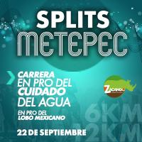 Splits Metepec Carrera en pro del cuidado del agua y el lobo mexicano 2019