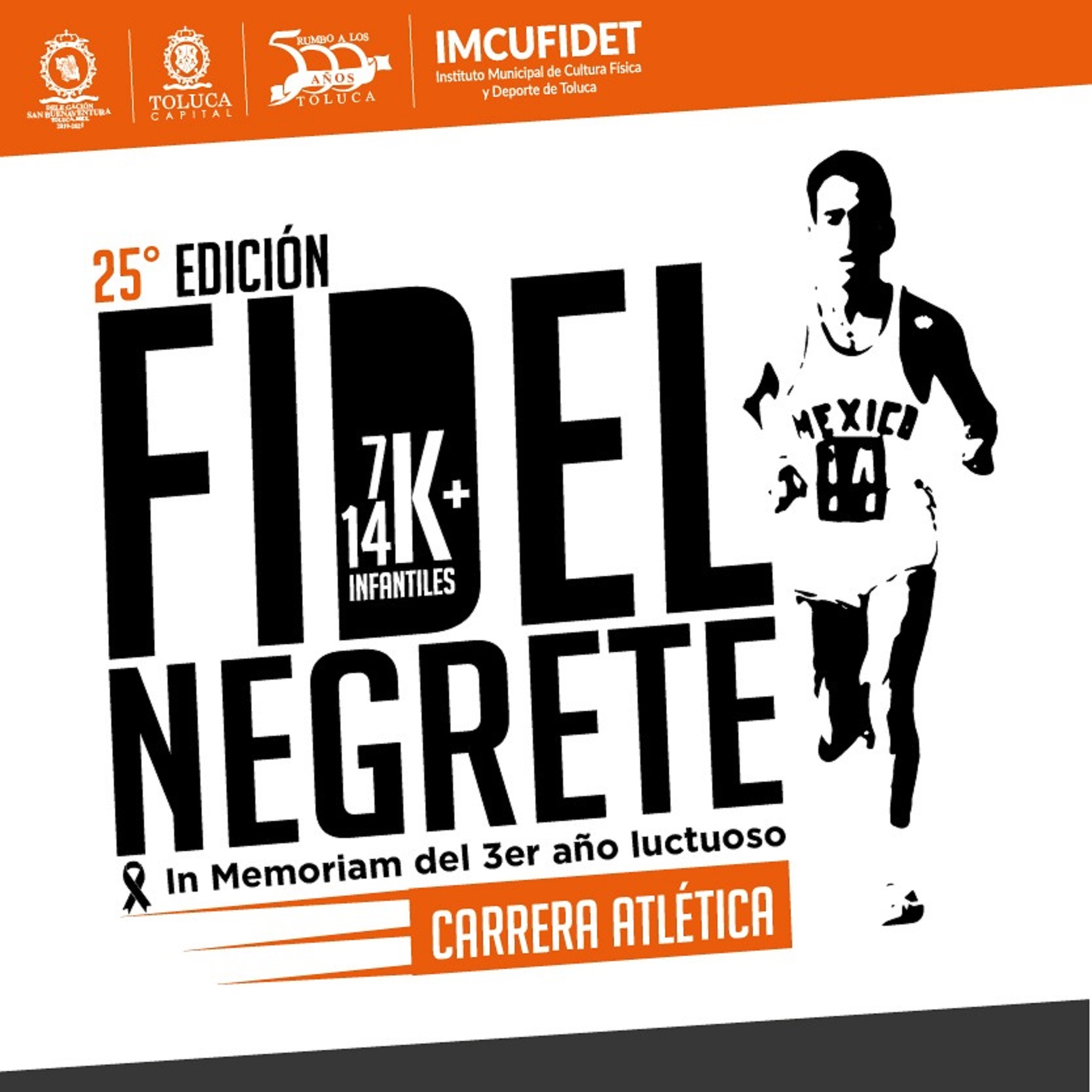 25a Carrera Atlética Fidel Negrete 14k y 7k 2019