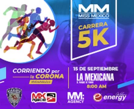 Carrera Miss México 5k 2019