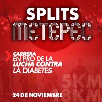 """Splits Metepec """"Carrera en pro de la lucha contra la diabetes"""" 2019"""