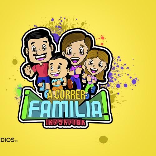 A correr FAMILIA Monterrey 2019