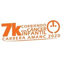 """""""Corriendo Contra el Cáncer Infantil"""" 7K Carrera AMANC Séptima Edición 2020"""